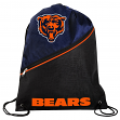 Chicago Bears NFL High End Diagonal Zipper Drawstring Backpack