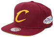 Cleveland Cavaliers 2016 NBA Champions Mitchell & Ness Snap Back Hat - Maroon