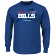 "Buffalo Bills Majestic NFL ""Of Great Value"" Men's Long Sleeve T-Shirt"