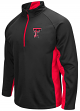 "Texas Tech Red Raiders NCAA ""Viper"" 1/2 Zip Pullover Men's Sweatshirt"