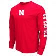 "Nebraska Cornhuskers NCAA ""Cobra"" Long Sleeve Dual Blend Men's T-Shirt"