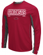 "Arkansas Razorbacks NCAA ""Iceman"" Men's Long Sleeve Performance T-Shirt"