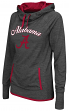 "Alabama Crimson Tide Women's NCAA ""Buggin"" Cowl Neck Hooded Sweatshirt"