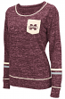 "Mississippi State Bulldogs Women's NCAA ""Homies"" Long Sleeve Pocket Shirt"