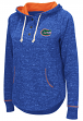 "Florida Gators Women's NCAA ""Sunset"" Hooded Henley Sweatshirt"