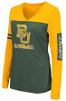 "Baylor Bears Women's NCAA ""Whatevs"" Long Sleeve V-Neck T-Shirt"