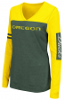 "Oregon Ducks Women's NCAA ""Whatevs"" Long Sleeve V-Neck T-Shirt"