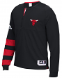 Chicago Bulls Adidas 2016 NBA Men's On-Court Authentic L/S Shooting Shirt