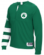 Boston Celtics Adidas 2016 NBA Men's On-Court Authentic L/S Shooting Shirt