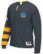 Golden State Warriors Adidas 2016 NBA On-Court Authentic L/S Shooting Shirt