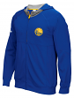 "Golden State Warriors Adidas 2016 NBA On-Court ""Pre-Game"" Full Zip Hooded Jacket"