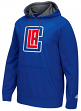 "Los Angeles Clippers Adidas 2016 NBA ""Playbook"" Men's Hooded Sweatshirt"