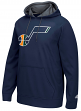 "Utah Jazz Adidas 2016 NBA ""Playbook"" Men's Hooded Sweatshirt"