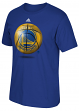 "Golden State Warriors Adidas NBA ""Logo Ball"" Premium Print S/S Men's T-Shirt"