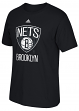 "Brooklyn Nets Adidas NBA ""Cut The Net"" Premium Print S/S Men's T-Shirt"