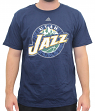 "Utah Jazz Adidas NBA ""Cut The Net"" Premium Print S/S Men's T-Shirt"