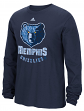 "Memphis Grizzlies Adidas NBA ""Cut The Net"" Premium Print L/S Men's T-Shirt"