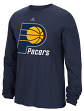"Indiana Pacers Adidas NBA ""Cut The Net"" Premium Print L/S Men's T-Shirt"