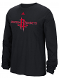"Houston Rockets Adidas NBA ""Cut The Net"" Premium Print L/S Men's T-Shirt"