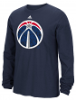 "Washington Wizards Adidas NBA ""Cut The Net"" Premium Print L/S Men's T-Shirt"