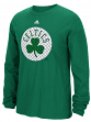 "Boston Celtics Adidas NBA ""Tech Quilt"" Premium Print L/S Men's T-Shirt"