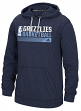 "Memphis Grizzlies Adidas NBA ""Icon Status"" Men's Climawarm Hooded Sweatshirt"