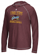 """Cleveland Cavaliers Adidas NBA """"Fade Away"""" Men's Climalite Hooded L/S Shirt"""