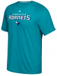 "Charlotte Hornets Adidas NBA ""Meshing Around"" Climalite Performance S/S T-Shirt"