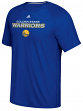 "Golden State Warriors Adidas ""Meshing Around"" Climalite Performance S/S T-Shirt"