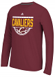"Cleveland Cavaliers Adidas NBA ""Balled Out"" Climalite Performance L/S Shirt"
