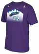 "Karl Malone Utah Jazz Adidas NBA ""Soul Swingman"" Player T-Shirt"
