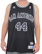 George Gervin San Antonio Spurs Adidas NBA Throwback Swingman Jersey - Black