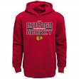 "Chicago Blackhawks Youth NHL Reebok ""Hometown Pride"" Hooded Sweatshirt"