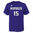 DeMarcus Cousins Sacramento Kings Youth Adidas NBA Player Purple T-Shirt