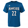 Andrew Wiggins Minnesota Timberwolves Youth Adidas NBA Player T-Shirt