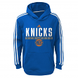 "New York Knicks Youth NBA Adidas ""Playbook"" Pullover Performance Sweatshirt"