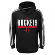"Houston Rockets Youth NBA Adidas ""Playbook"" Pullover Performance Sweatshirt"