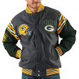 "Green Bay Packers NFL Men's G-III ""Edge"" Reversible Wool Jacket"