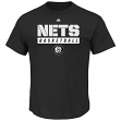 "Brooklyn Nets Majestic NBA ""Proven Pastime"" Short Sleeve Men's T-Shirt"