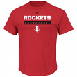 "Houston Rockets Majestic NBA ""Proven Pastime"" Short Sleeve Men's T-Shirt"