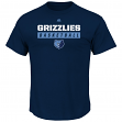 "Memphis Grizzlies Majestic NBA ""Proven Pastime"" Short Sleeve Men's T-Shirt"