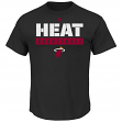 "Miami Heat Majestic NBA ""Proven Pastime"" Short Sleeve Men's T-Shirt"
