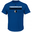 "Minnesota Timberwolves Majestic NBA ""Proven Pastime"" Short Sleeve Men's T-Shirt"