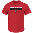 "Portland Trail Blazers Majestic NBA ""Proven Pastime"" Short Sleeve Men's T-Shirt"
