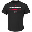 "Toronto Raptors Majestic NBA ""Proven Pastime"" Short Sleeve Men's T-Shirt"