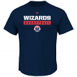 "Washington Wizards Majestic NBA ""Proven Pastime"" Short Sleeve Men's T-Shirt"