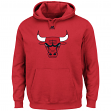 "Chicago Bulls Majestic NBA ""Supreme Logo"" Men's Pullover Hooded Sweatshirt"