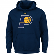 "Indiana Pacers Majestic NBA ""Supreme Logo"" Men's Pullover Hooded Sweatshirt"