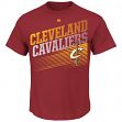 "Cleveland Cavaliers Majestic NBA ""Winning Tactic"" Men's Short Sleeve T-Shirt"