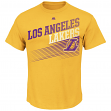 "Los Angeles Lakers Majestic NBA ""Winning Tactic"" Men's Short Sleeve T-Shirt"